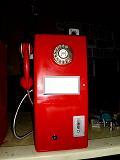 客製打造 50年代 ~ 60年代 紅色公用電話